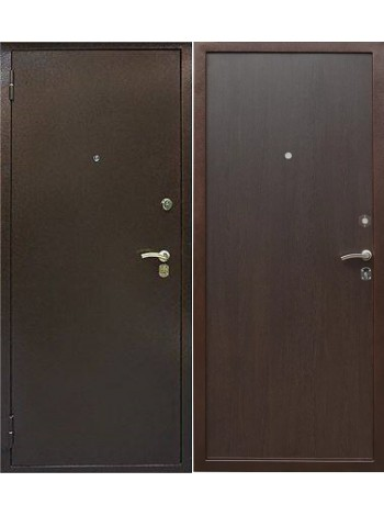 Входная дверь Альфа Медь Венге