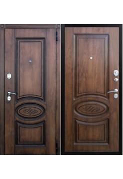 Входная дверь Артемида МДФ/МДФ Золотистый дуб с патиной