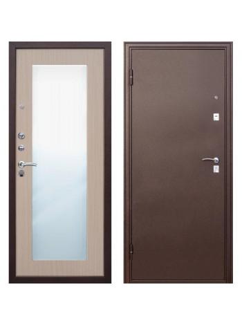 Входная дверь Царское Зеркало MAXI Беленый дуб