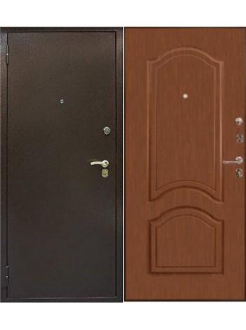 Входная дверь Дельта Медь Итальянский орех