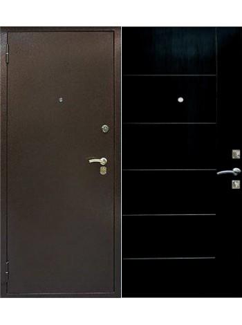 Входная дверь Дельта Медь Венге
