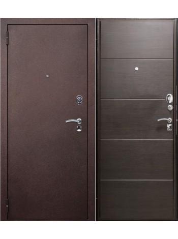 Входная дверь Геракл Венге поперечный