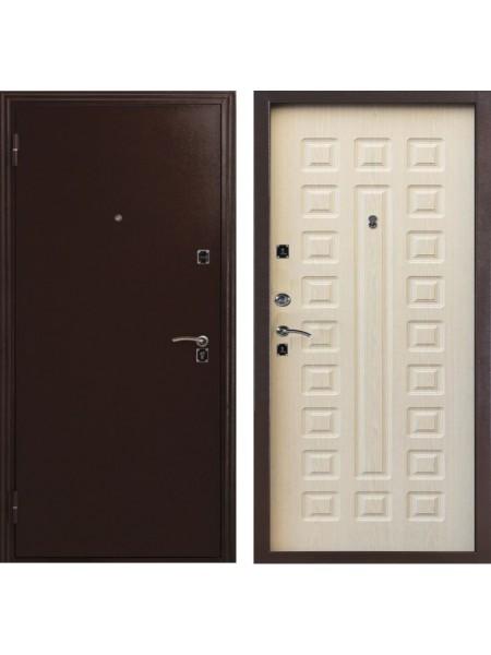 Входная дверь Меги ДС-181 беленый дуб