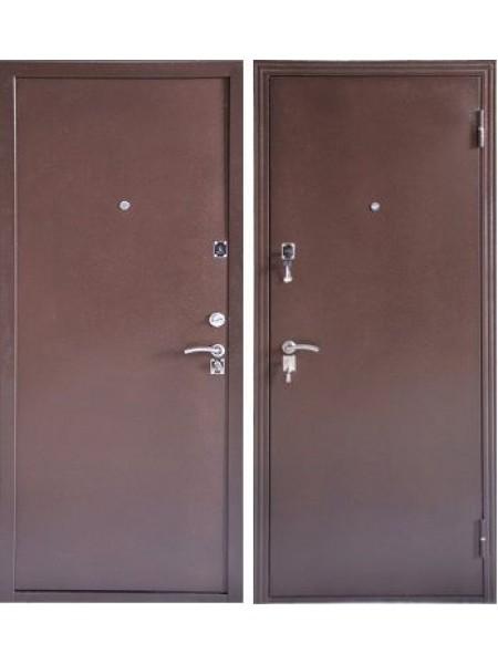 Входная дверь Меги ДС-184 металл/металл