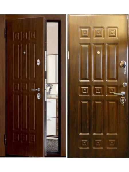 Входная дверь Меги ДС-617 темный дуб винорит