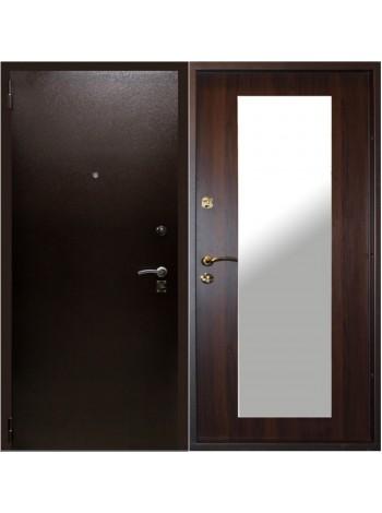 Входная дверь Зевс Зеркало Венге
