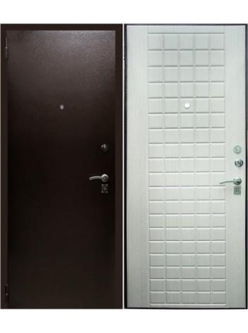 Входная дверь Зевс 1 Беленый дуб