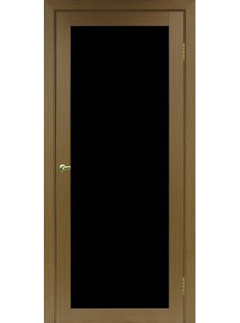 Optima Porte Турин 501.2 (стеклопакет LACOBEL черное)