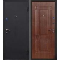 Входная дверь Ампир Черный шелк Венге