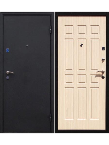 Входная дверь Комфорт беленый дуб