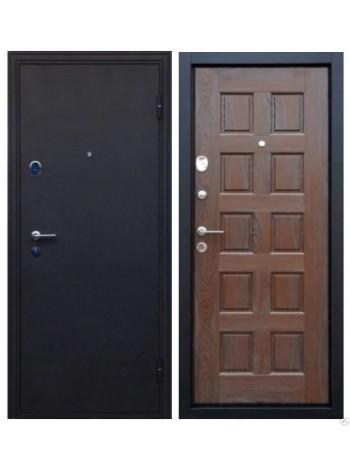 Входная дверь Троя трехконтурная Венге с патиной